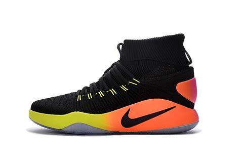 nike flyknit basketball shoes nike hyperdunk 2016 flyknit unlimited basketball shoes