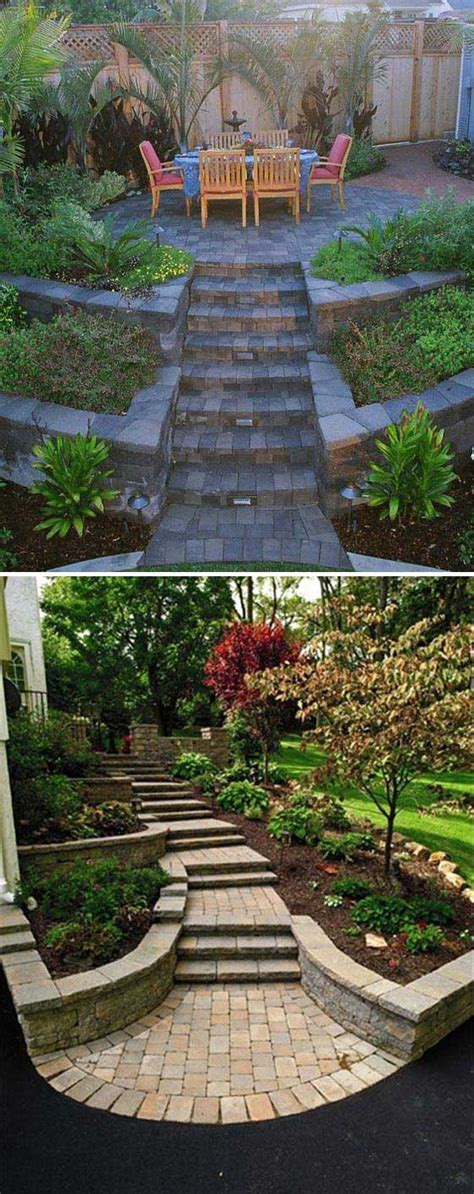 What Does Not In Backyard by 22 Amazing Ideas To Plan A Slope Yard That You Should Not