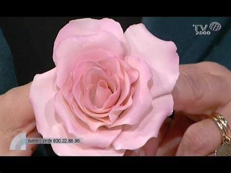 fiore con la a come realizzare un fiore con la pasta di zucchero