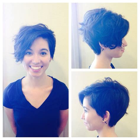 funky asymetrc bob hairsyles best 25 funky pixie cut ideas on pinterest