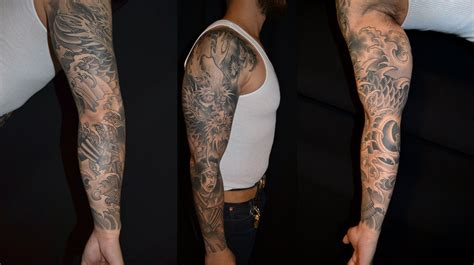 awesome sleeve tattoos japanese images designs