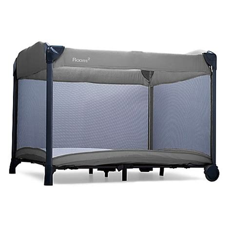joovy room 2 playard joovy 174 new room2 playard in charcoal buybuy baby