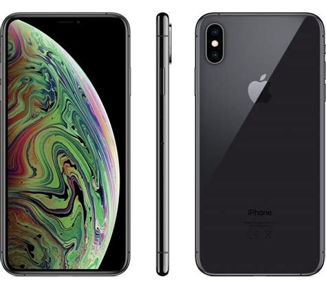 buy apple iphone xs max  gb space grey  delivery currys