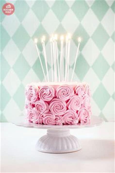rosa kuchen eis design ausgefallene torten schaffen birthday cakes