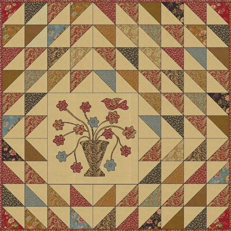 Triangle Patchwork Quilt - s quilts crows and cardinals half square triangle