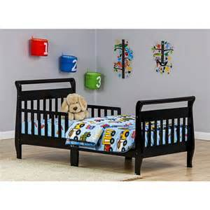 Toddler Sleigh Bed Black Dream On Me Sleigh Toddler Bed Your Choice In Finish