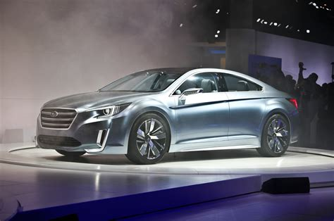 subaru legacy concept 2015 subaru legacy concept revealed before los angeles
