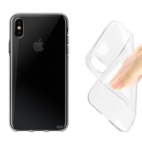apple australia iphone x orzly flexi gel case apple iphone x clear