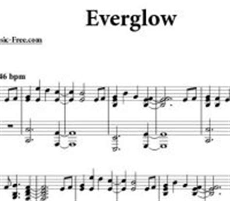 coldplay everglow piano sheet e archivos sheet music free