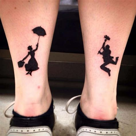mary poppins tattoo poppins and bert tattoos ideas