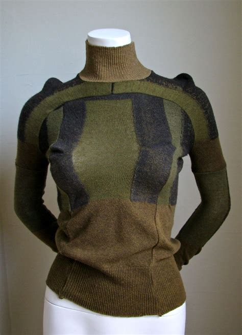 Army Home Decor by Martin Margiela Artisanal Top Made Of Army Socks 1991 At