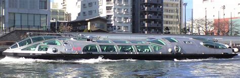 boat cruise tokyo photo album himiko the spacecraft like boat operated by