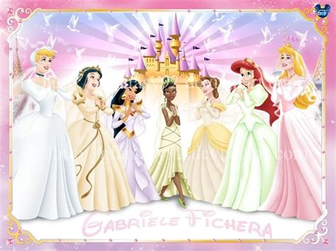 7 Prettiest Disney Princess Wedding Gowns by Disney Princess In Their Wedding Dresses Disney