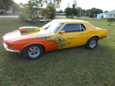 rod mustang 1969 mustang coupe rod rod drag car for sale
