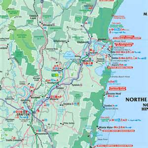 northern map northern rivers map
