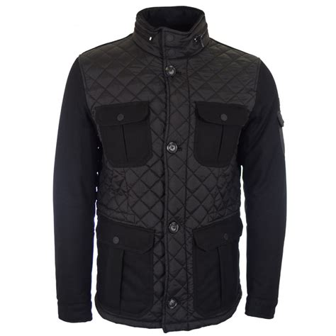 Armani Quilted Jacket by Armani Z6k75 Black Quilted Wool Jacket