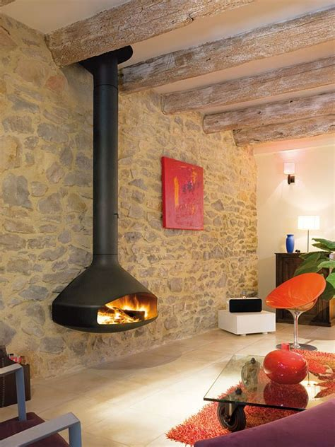 paxfocus modern wall mounted wood fireplace european home