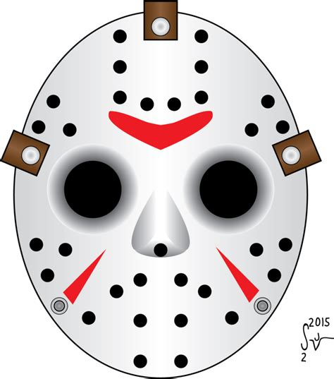 free printable jason mask friday the 13th jason hockey mask by sjvernon on deviantart