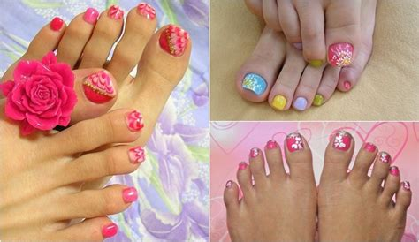 imagenes de uñas pintadas pies y manos imagenes de u 241 as decoradas de pies 171 ideas consejos