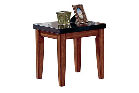 Granite End Table by City Wood Granite End Table