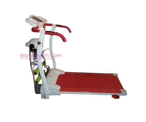 Treadmill Elektrik Hanatha 3 Fungsi Gt treadmill ha 150 murah elektrik 3 fungsi istanamurah