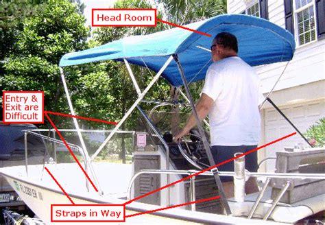 making a boat bimini top montauk t topless folding t top for boston whaler 174 10