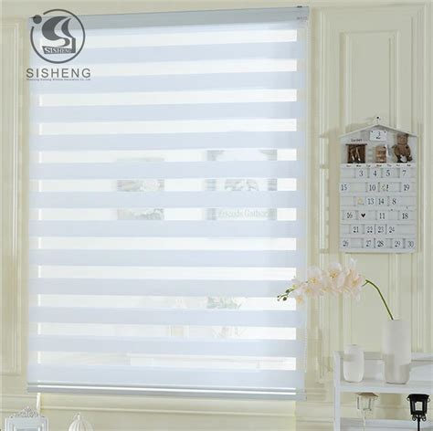 plain l shades in bulk plain color white light filtering dual layer sheer shades