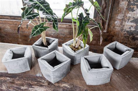 planter design made sustainable design concrete planters and ipe furniture