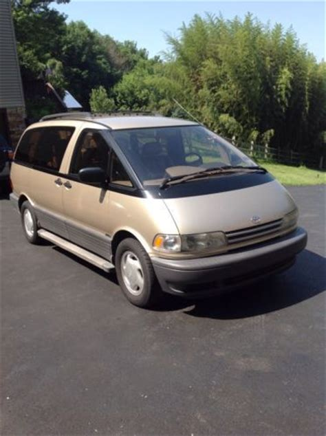 Toyota Previa 1996 Sell Used 1996 Toyota Previa Le Sc Alltrac All Wheel Drive
