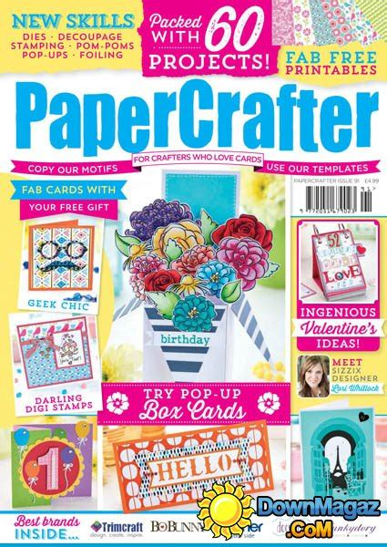 Papercrafter Magazine - papercrafter issue 91 2016 187 pdf magazines