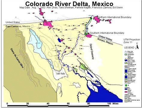 colorado river delta map colorado river delta the basemap