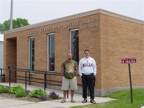 Whitewater Post Office by Pembine Wisconsin Post Office Post Office Freak