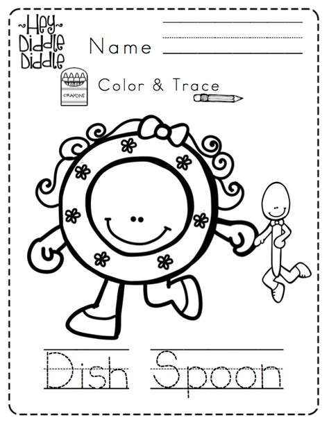 preschool coloring pages nursery rhymes preschool printables nursery rhymes no prep coloring home