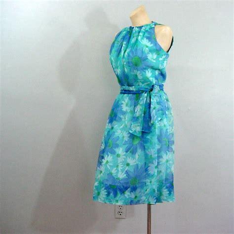 Cal Dress 1 60s eleanor green california look dress 36b 27w pretty sweet vintage