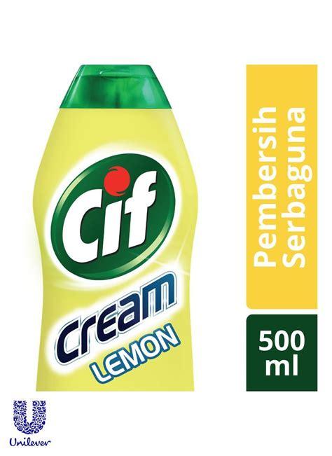 Pembersih Cif cif pembersih serbaguna lemon btl 500ml klikindomaret
