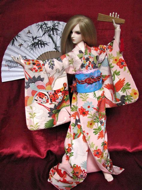 jointed doll history bjd kimono haru is by inarisanscrafts on deviantart