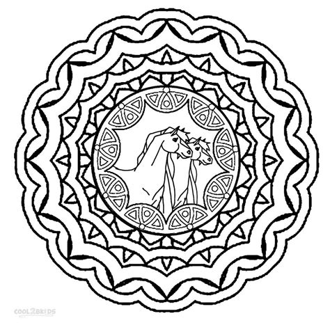 printable animal mandala coloring pages printable mandala coloring pages for kids cool2bkids