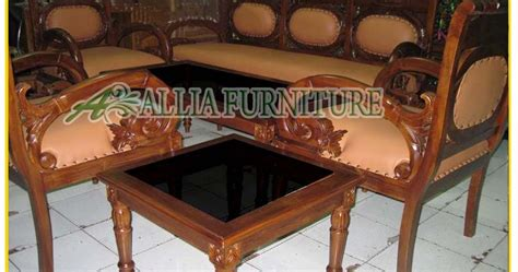 Meja Kursi Tamu meja kursi tamu ukiran putri ayu allia furniture