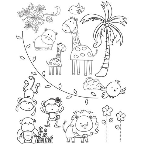 zoo animal coloring pages for toddlers free zoo animals coloring pages