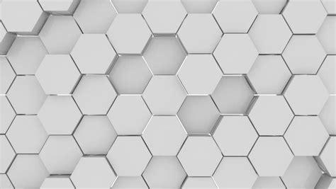 hexagon background loop full hd  render stock footage