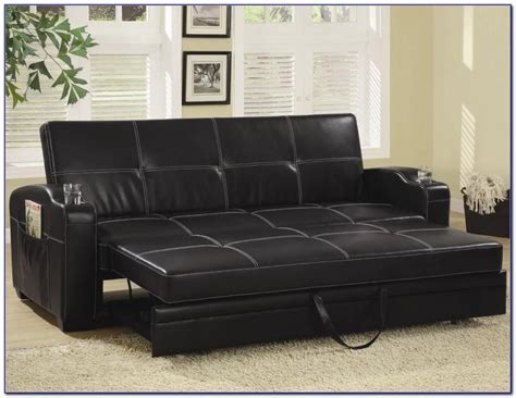 leather sleeper sectional leather sectional sleeper sofa home design ideas