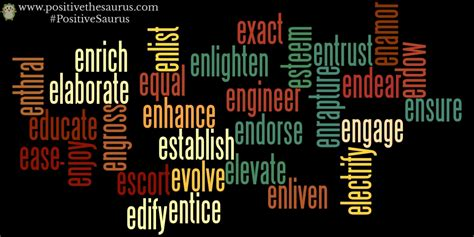 positive thesaurus positive words for you positive verbs that start with e
