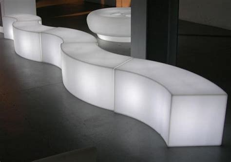 movable lighting picture of bench february 2011 london garden design