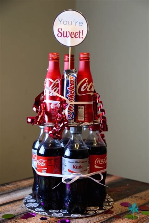 Diy Soda Cake Summer  Ee  Gift Ee   Idea Some Of This And