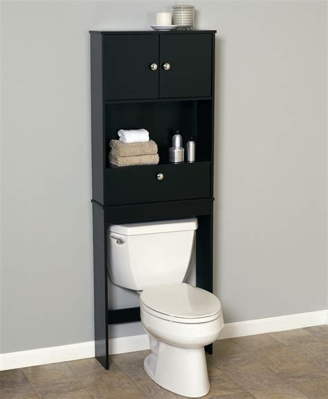 bathroom space saver ideas bathroom modern black bathroom space saver over toilet