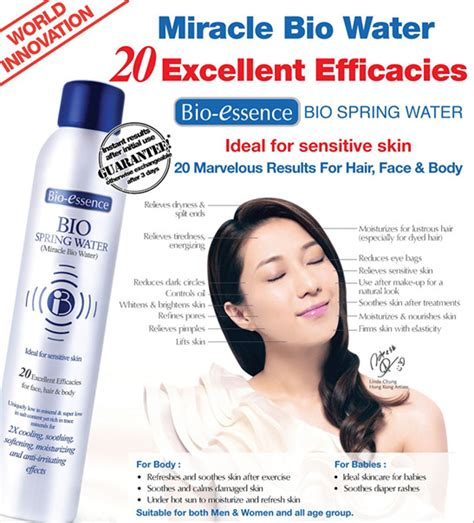 Bio Essence bio essence miracle bio water review cheryl wennee