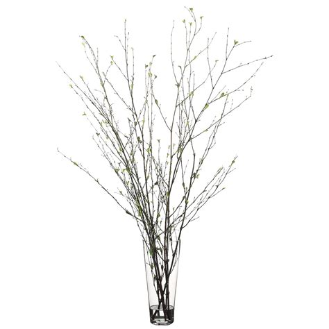 Branch Vase by 52 Inch Branch Arrangement In Glass Vase Wf2495 Gr Br