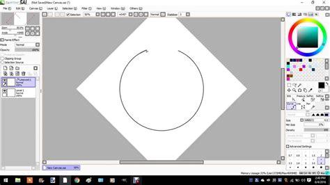 paint tool sai simple circle i is magik a circle in paint tool sai
