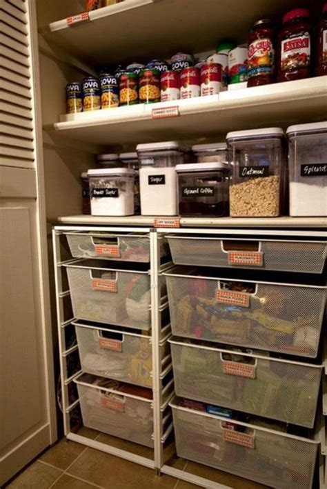 Pantry Organization Baskets by 65 Ingenious Kitchen Organization Tips And Storage Ideas