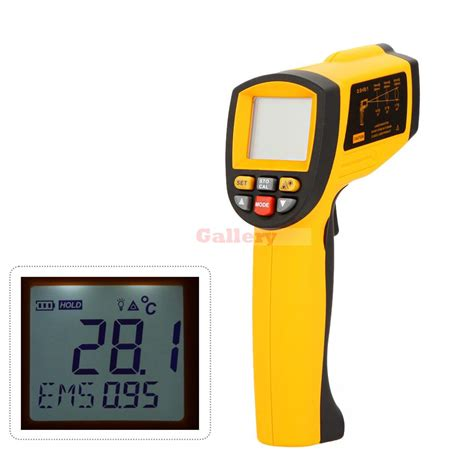 Infrared Thermometer Gun gm1150a non contact 50 1 digital infrared thermometer